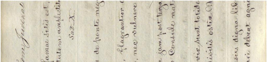 E. T. Fletcher manuscript