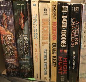 Mass Market fantasy novels